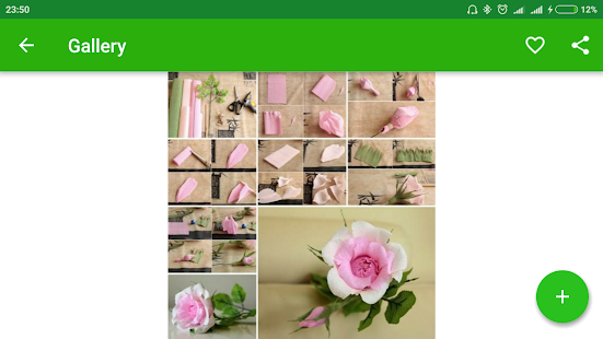 Origami rose flowers apps on google play screenshot image mightylinksfo