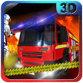 Firefighter Fire Truck Rescue