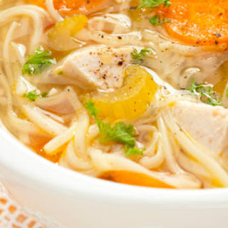 Five-Spice Chicken Noodle Soup