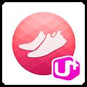 U+헬스 걷기코치 icon