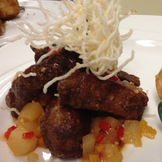 Huli Huli Sweet and Sour Spare Ribs.