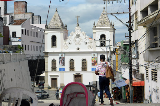 church2.jpg - The historic center of Salvador, Brazil, dates to the 1500s.