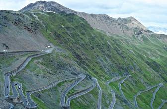 Photo: Road to Stelvio pass