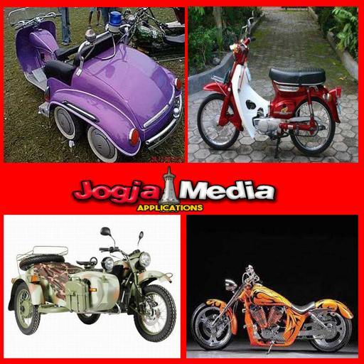 Desain modifikasi motor klasik