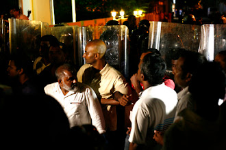 Photo: MPs lodged complaints at the Parliament on the ongoing violence against them. Photo/dyingregime