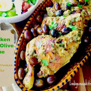 Chicken and Olive Tajine.