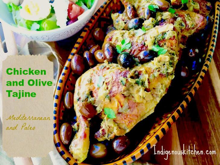 Chicken and Olive Tajine Recipe