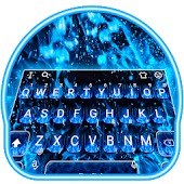 Blue Fire Flaming Keyboard Theme Android APK Download Free By Bs28patel
