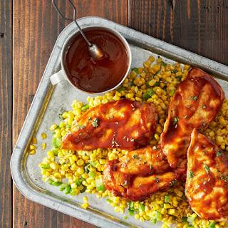 Backyard Barbecue Chicken.