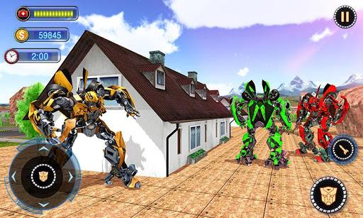 US Robot Car Transform - Police Robot Fighting 1.0.1 screenshots 6