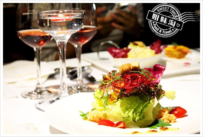 新國際西餐廳開胃主題沙拉