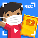 Vlogger Go Viral: Streamer Tuber Idle Life Games icon