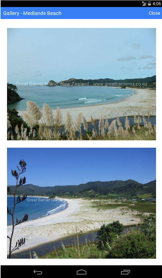 Great Barrier Island Offline- screenshot