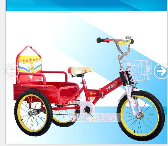 Xe đạp xích lô dành cho bé yêu XL-01 4