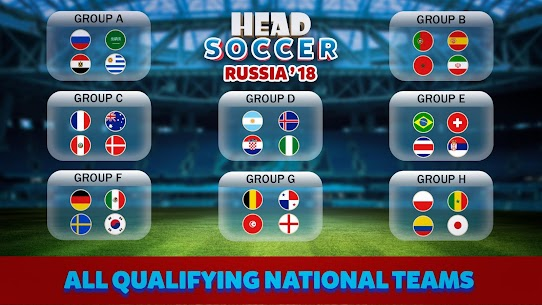 Head Soccer Russia Cup 2018: World Football League 3