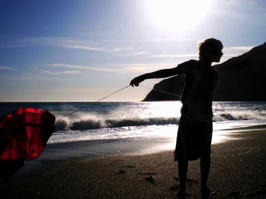 Silhouette sulla riva di Cecy