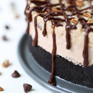 German Chocolate Ice Cream Cake.