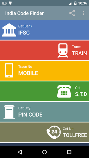 Pincode PNR IFSC STD finder