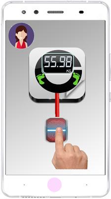 Weight Machine Scanner Prank - screenshot