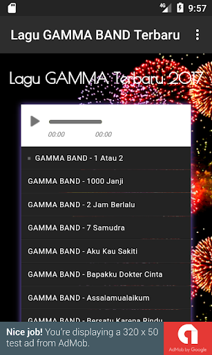 Download Lagu GAMMA BAND Terbaru Google Play softwares