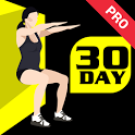 30 Day Wall Sit Challenge Pro icon