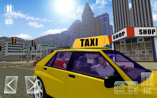 City Taxi Driver sim 2016: Cab simulator Game-s 1.9 screenshots 4