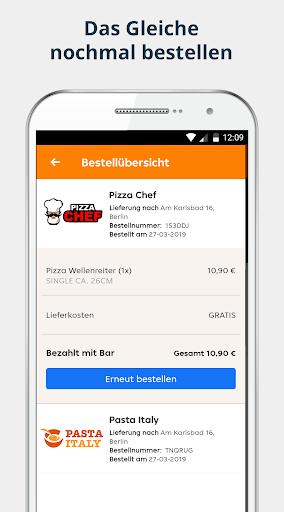 pizza.de | Food Delivery  screenshots 4