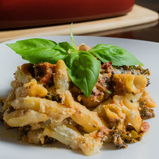 Fully Loaded Veggie Pasta Bake