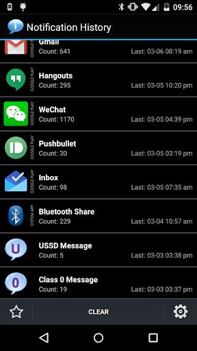 Notification History 1.8.18 screenshots 1