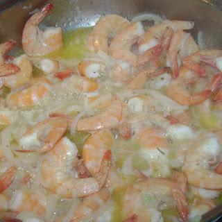 (Garlic Shrimp) Recipe