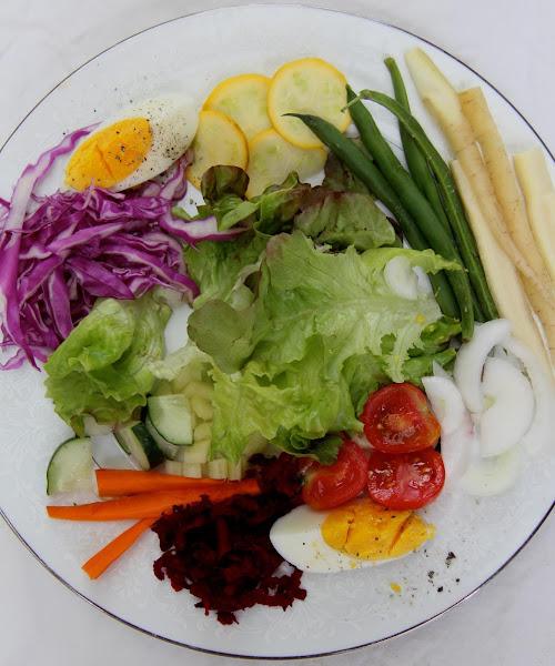 Basic  Vegetable Salad From Switzerland Recipe