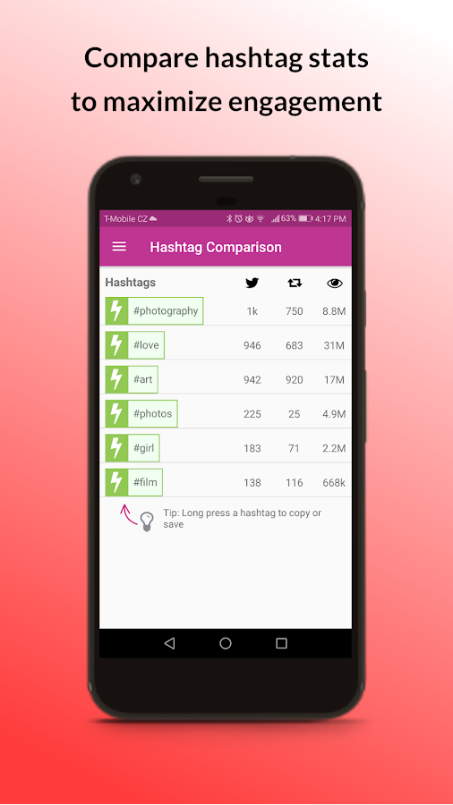 Ritetag Auto Hashtags For Instagram Amp Beyond Android Apps On Google Play