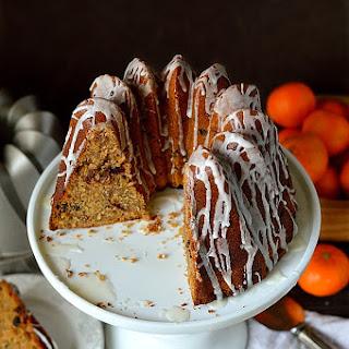 Mincemeat Bundt Cake.