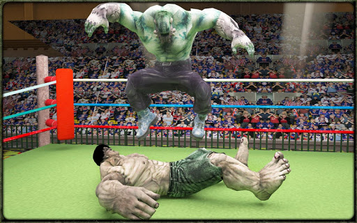 Incredible Monster Superheroes Ring Battle  screenshots 10