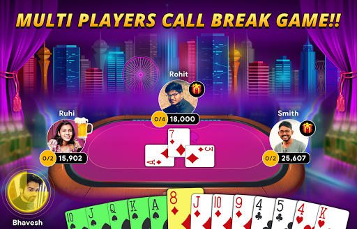 Callbreak - Online Card Game android2mod screenshots 1