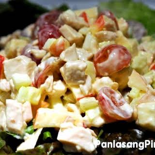Chicken Salad Apples Grapes Recipes.