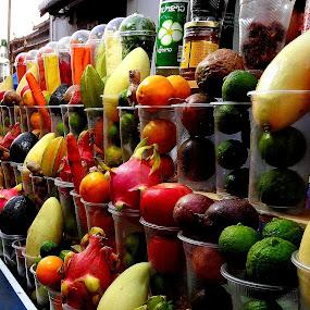 Fruit lineup by Rebecca Pollard - Food & Drink Fruits & Vegetables (  )