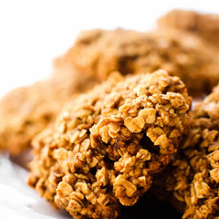 Chunky Oatmeal Gingersnap Cookies.