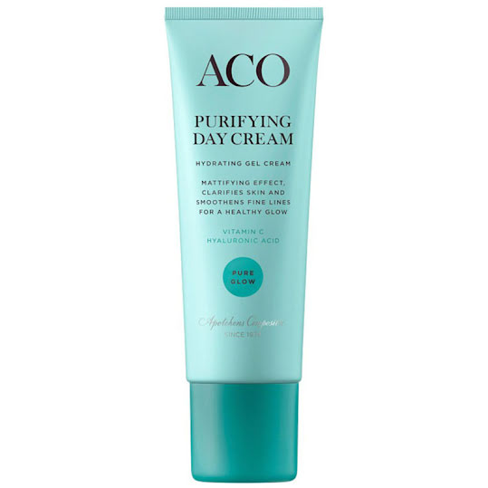 ACO Face Pure Glow Purifying Day Cream Parfymerad 50 ml