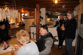 Photo: das erste Bier nach Ankunft