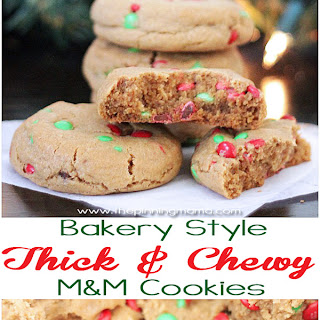 Bakery Style Thick & Chewy M&M Cookie