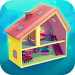 My Little Dollhouse: Craft & Design Game for Girls Icon