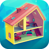 My Little Dollhouse: Craft & Design Game for Girls