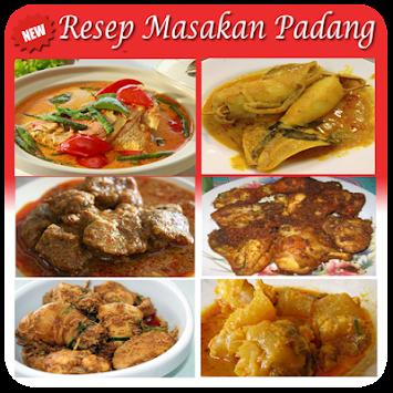 Resep Masakan Padang Poster  Resep Masakan Padang Poster