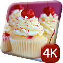 Tasty Cupcakes 4K Live Wallpap icon