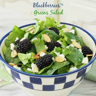 Blackberries & Greens Salad