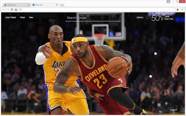 lebron james wallpaper hd king james new tab chrome web store