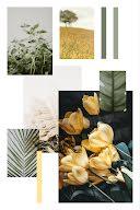 Fresh Floral Collage - Pinterest Pin item