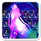 Galaxy Wolf Keyboard Android APK Download Free By 7star Princess