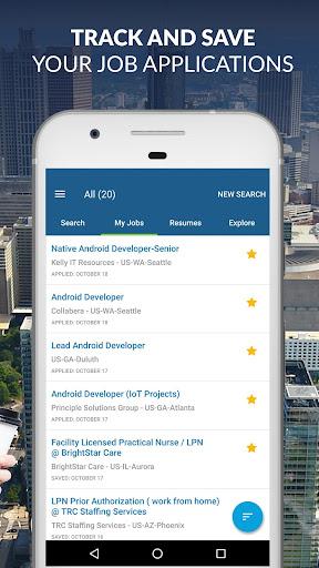 CareerBuilder: Find A Job & Job Opportunities screenshot